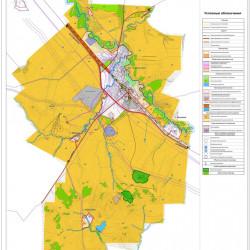 Карта градостроительного зонирования МОНовосергиевский поссовет